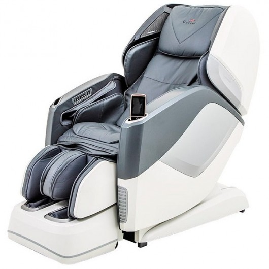 Массажное кресло Aura Grey White