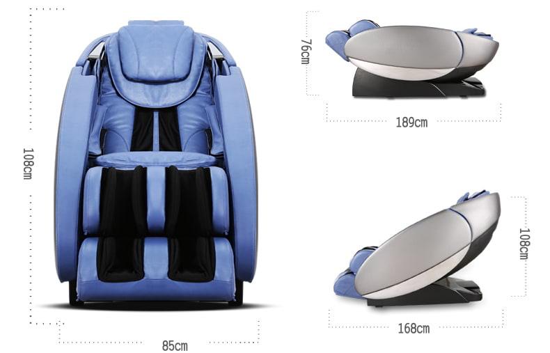 Массажное кресло Pilot (RT-7710) ZEUS