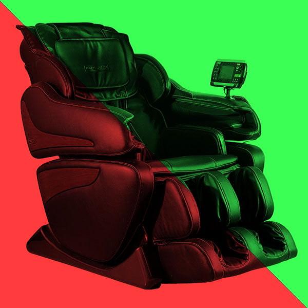 Массажные кресла. Плюсы и минусы