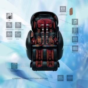 Из чего состоит массажное кресло?